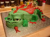 Dragon Cake for Dad's 65th birthday
