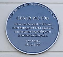 Photo of Cesar Picton blue plaque