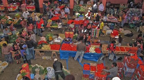 Guatemala Markt in Chichicastenango