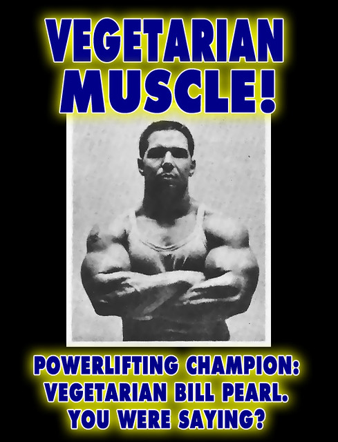 Vegetarian Body Builder Power ...