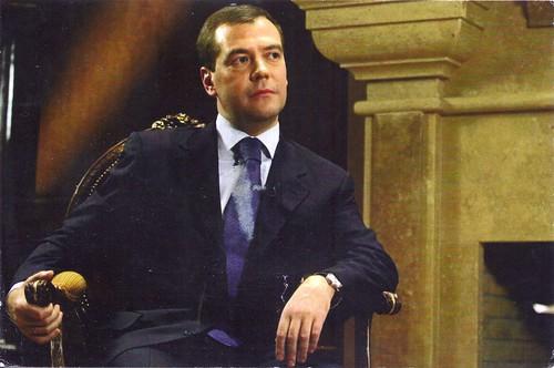 Dmitry Medvedev-Russian President