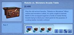 Robots vs. Monsters Arcade Table