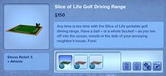 Slice of Life Golf Driving Range