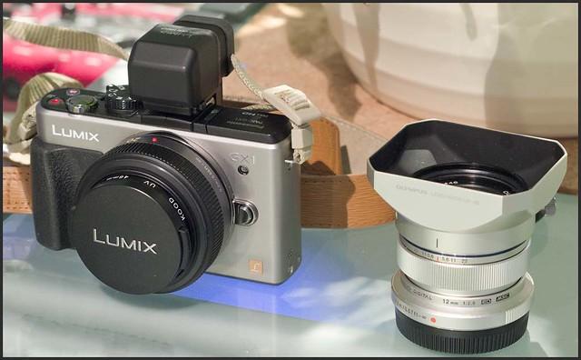 Panasonic GX1 20mm f/1.7 Olympus 12mm f/2