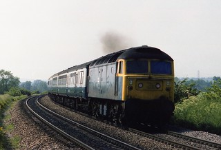 Oxfordshire Inter City - Class 47