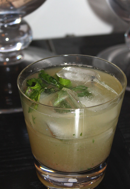 Grapefruit Basil Gin Fizz - Home - Kiss My Whisk
