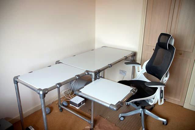 Individueller Schreibtisch