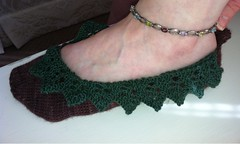 First Pemberley slipper