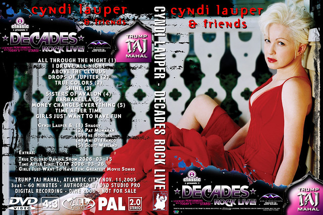 Cyndi Lauper and Friends - Atlantic City 2006