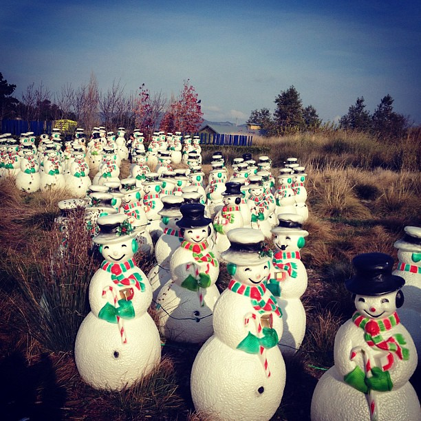 Invasion of the Christmas Snowmen
