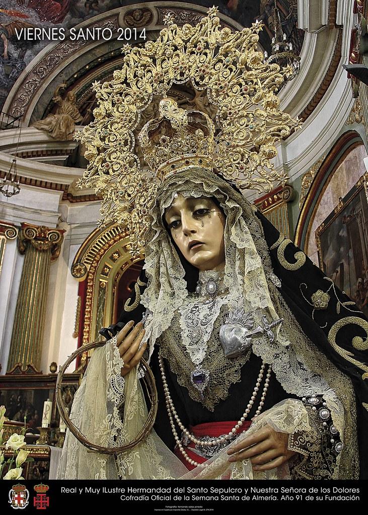 Cartel Santo Sepulcro, Viernes Santo 2014