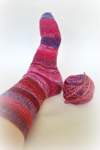 Sock one done