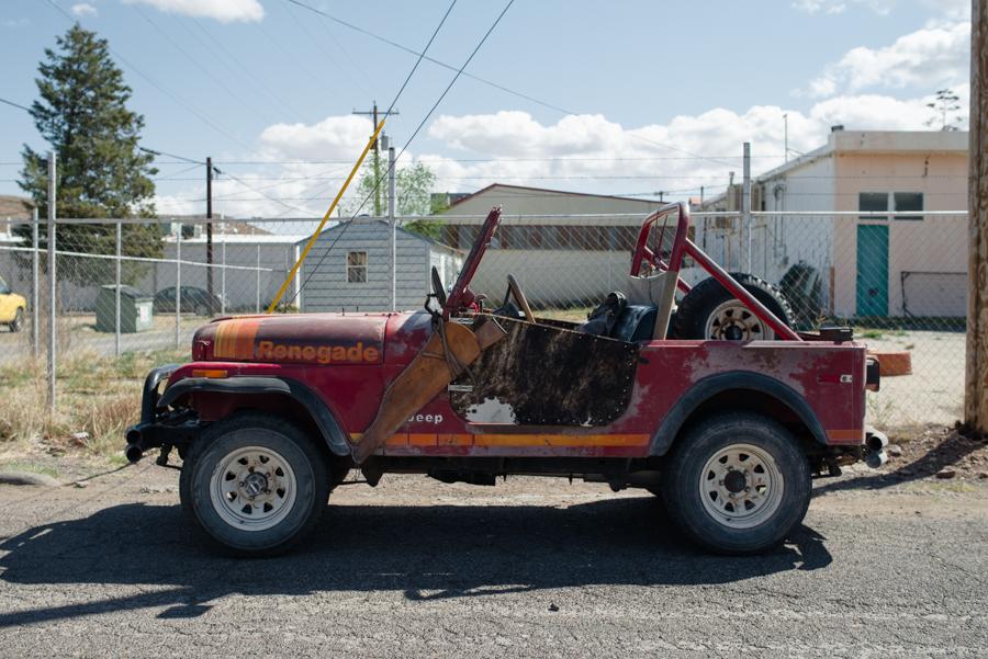 Rusty's Jeep
