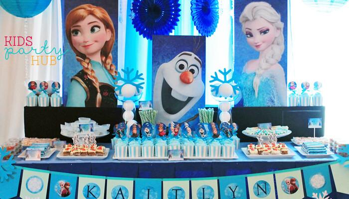 Disney Frozen Candy Buffet Manila