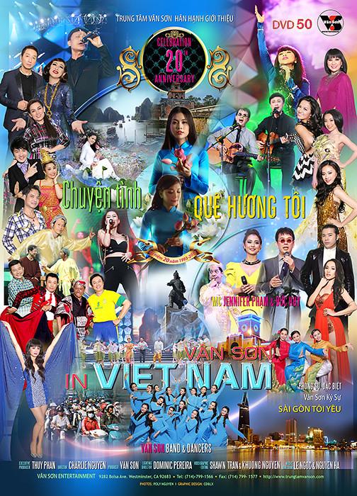 Vân Sơn 50 IN Việt Nam Chuyện Tình Quê Hương Tôi DVD9/DVDRip