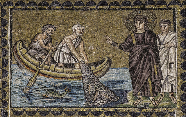 Christ and the Catch of Fish