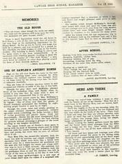 Gawler High School Year book 1941 P12 John McKinlay and Pile residence