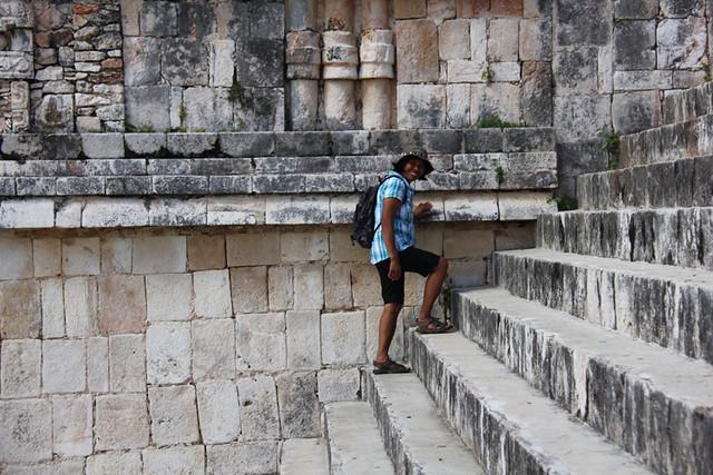 México - Yucatán Uxmal - Filipina / Pinay