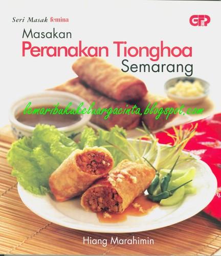 Masakan peranakan Tionghoa Semarang