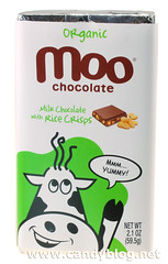 Organic Moo Chocolate Milk Chocolate with Rice Crisps