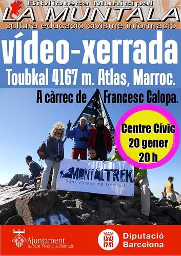Vídeo-xerrada: Toubkal 4167 m. Atlas, Marroc. 20 gener. by bibliotecalamuntala