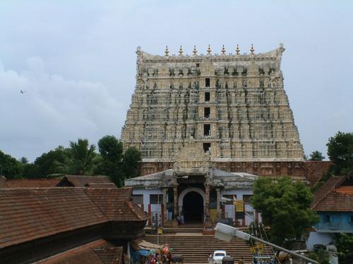 Temple Architecture Padmanabhaswamy Temple Trivandrum (Thiruvananthapuram)