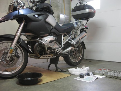 R1200GS Oil Change