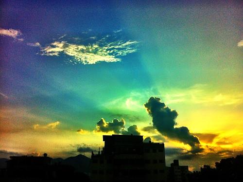 xmas valencia sunrise venezuela