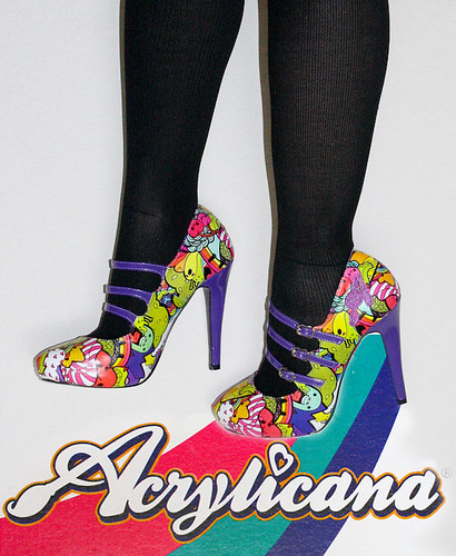 Acrylicana Party Party Shoes