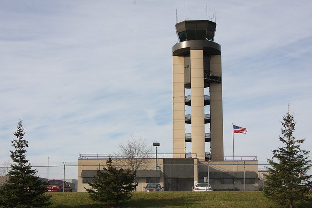 Rochester Air Traffic Control Roof Railing