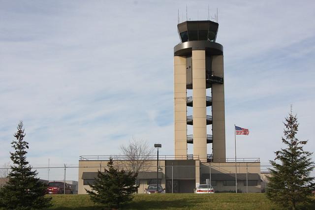 Rochester Air Traffic Control Roof Railing