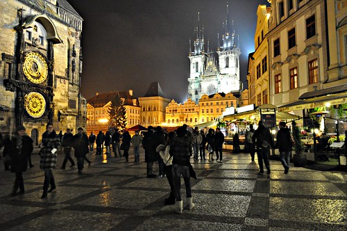 Prague Old Town Square by pentlandpirate