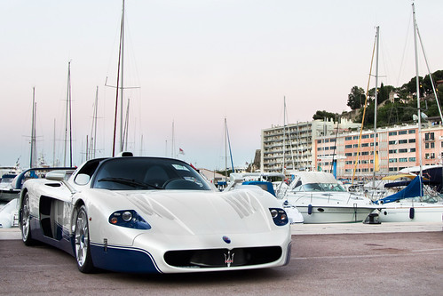 The Evening in Monaco.