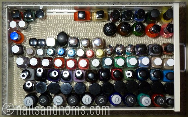 Rie's Polish Stash - 3rd Drawer (as of 11/28/11)