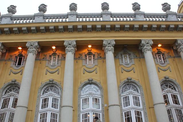 Széchenyi fürdő de Budapest