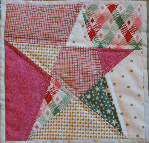 5 point star quilt block