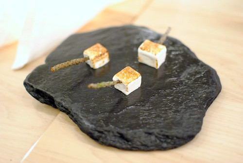 Bruleed marshmallow w/ infused douglas fir