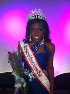 National American Miss Jr. Teen Raven Delk of California