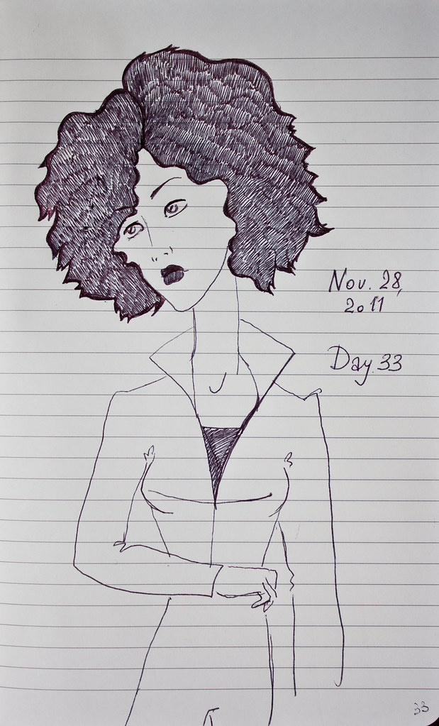 Day 33 | Nov. 28, 2011 | Hair Style