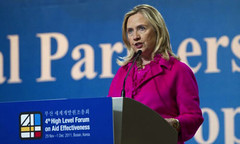 Hillary Clinton at the Forum on Aid Effectiveness