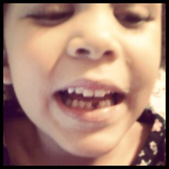 i am not yet prepared to be the tooth fairy, and yet HERE WE ARE. #teefs #noteefs