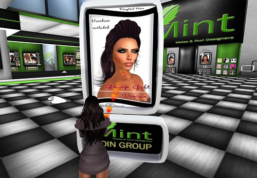 *MINT* - Vivian Hair Majestic - Group Gift by Cherokeeh Asteria