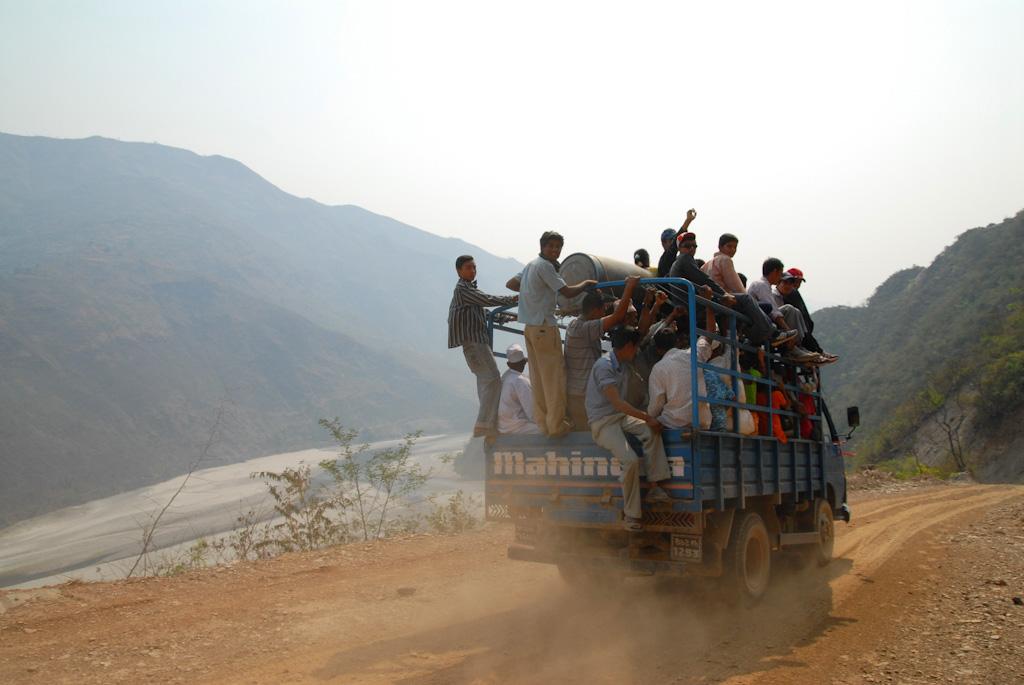 尼泊爾的低海拔鄉下 Ramechhap