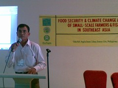 Oun Sophal, President of Farmer and Nature Net, AFA member in Cambodia