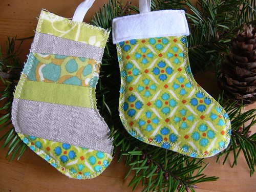 Jenny: Stocking Ornaments for Etsy shop