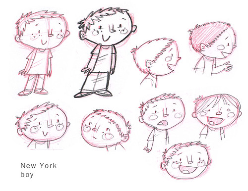 NY boy sketches