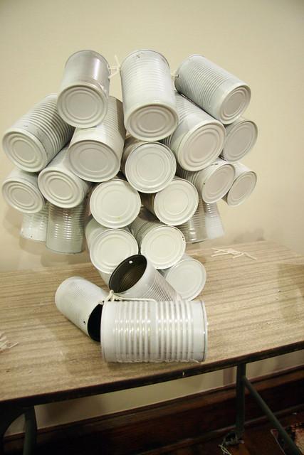 Canned Tree Advent Calendar Fail
