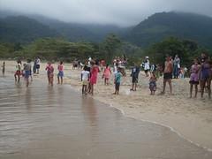 Corrida de Canoas: Praia de Cambury