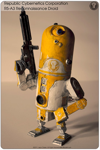 R5-A3 (3A Armstrong/1977 MPC R2-D2 Mash-Up)