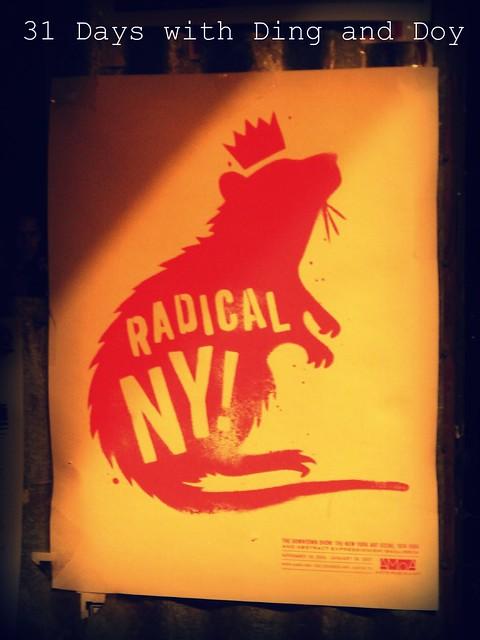 Radical NY poster